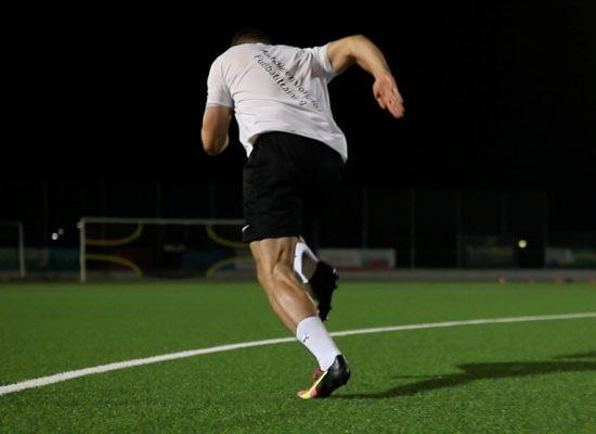 Schnelligkeitstraining Fußball