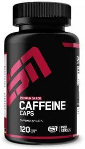 ESN Caffeine Caps, Supplements für Fußballer, Nahrungsergänzungsmittel Fußball, Rising Pro Empfehlung