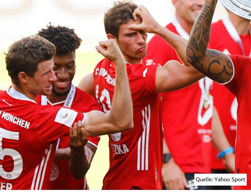 FC Bayern, Bizeps, Rising Pro, Nahrungsergänzungsmittel Fußball, Supplements Fußball, Yahoo Sport