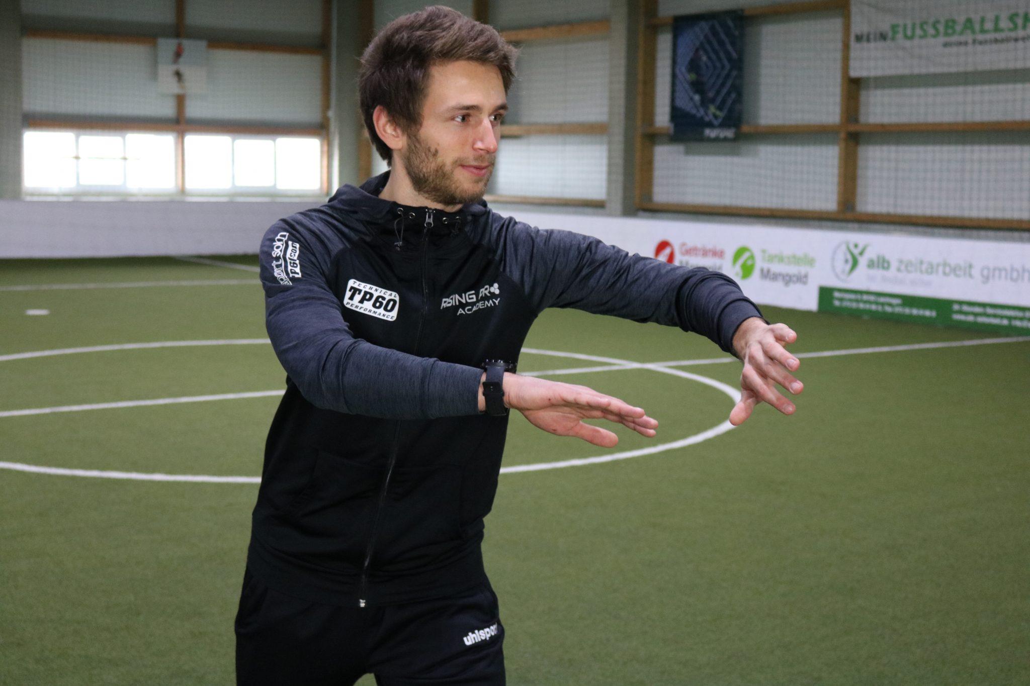 Simon Jans - Rising Pro Training